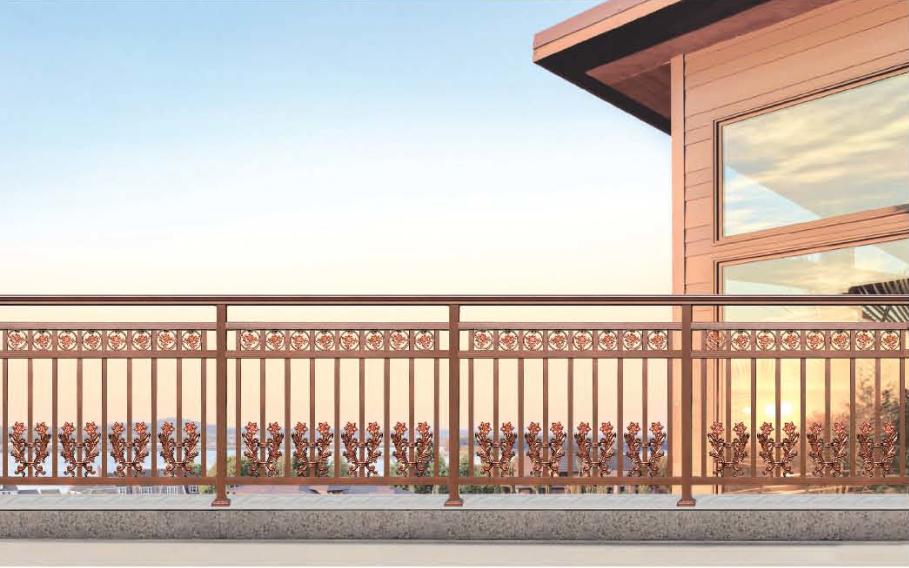 铝yi阳台护栏